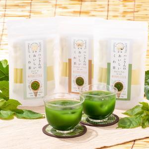 【パウダータイプでもっと気軽に 毎日違う味を楽しめる桑の葉茶。】 生命力溢れた桑の木。その葉は、養分...