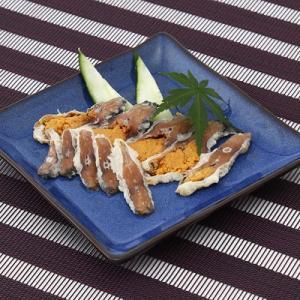 滋賀の珍味・鮒寿司のお手軽食べきりサイズ 天然ニゴロ鮒寿司スライスミニ 送料無料 ポイント消化|産直お取り寄せニッポンセレクト