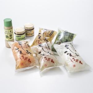 さしみこんにゃく5種セット やまのふぐさしみこんやく 有限会社ケーフーズ生田目 福島県 日本古来の在来種蒟蒻芋を使って作りました。
