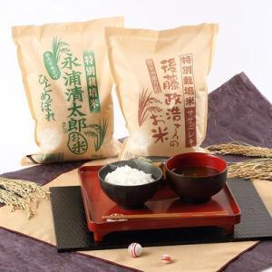 ササニシキ&ひとめぼれ  特別栽培米食べくらべセット20kg 送料無料 ポイント消化 nipponselect
