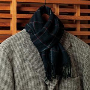 【入間の匠、細田和男が「Y式織機」で1枚1枚丁寧に織り上げたウールマフラーです】 入間の匠、細田和男...
