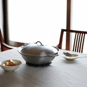 ステンレス製卓上鍋(お玉・目皿付) 肴七味 IH対応