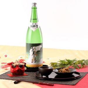 コク深い味わい  能登路 特別純米酒 1.8L (株)久世酒造店・石川県