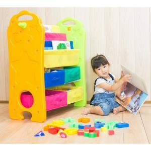 おもちゃ収納 ブックシェルフ おもちゃ箱 子供部屋にぴったり ハンガー掛け ブックシェルフ 収納トレイ 転倒防止ベルト付