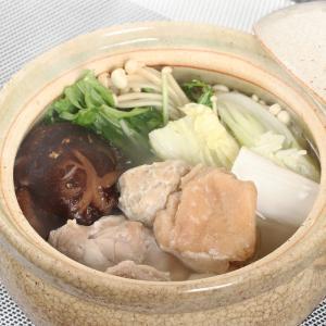 お中元 宮崎県産夢創鶏自家製鶏ガラスープの水炊きセット(4〜...