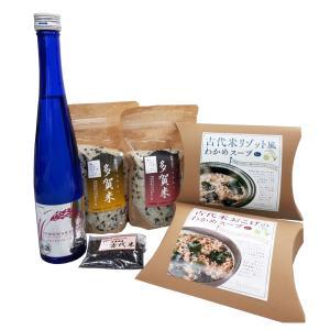 多賀城では、で人気の古代米を使ったグルメ、しろのむらさき。しろのむらさき商品の中でも代表的かつ人気の...