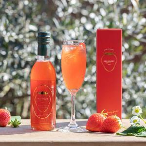 【スカイベリーのおいしさをそのままギュッと絞った100%ジュース】 いちご王国栃木で17年の歳月をか...