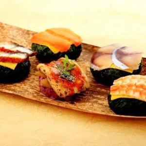 わさび葉寿しセット 4箱 セット 5種 詰合せ 寿司 惣菜 手まり寿司 海老 鰻 鮭 鯖 奈良 わさび葉寿司うめもり|産直お取り寄せニッポンセレクト