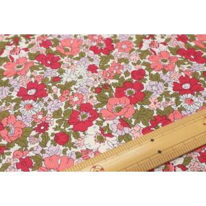 【リバティ2018SS 30/-シーチング The Cottage Garden】COSMOS MEADOW 04775611-Y|nippori-pakira