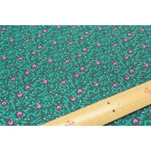 【リバティ30/シーチングSEASON'S GREETINGS】Holiday Berries 04775661-X|nippori-pakira