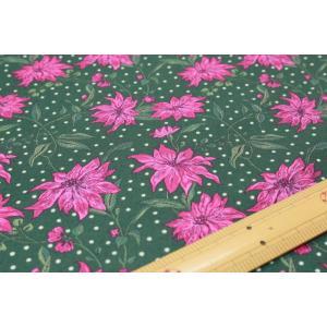 【リバティ30/シーチングSEASON'S GREETINGS】Poinsettia 04775662-X|nippori-pakira