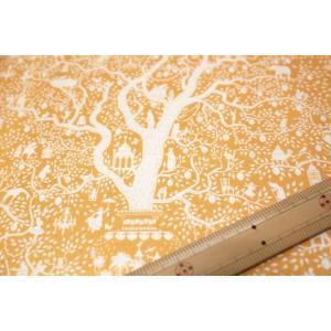 【ティルダ ファブリック/Tilda】Tilda W110 Lemontree 100013-Yellow|nippori-pakira