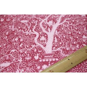 【ティルダ ファブリック/Tilda】Tilda W110 Lemontree 100015-Plum|nippori-pakira