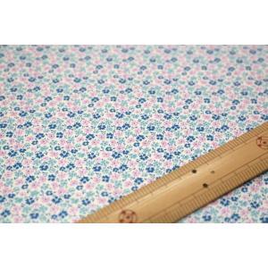 【ティルダ ファブリック/Tilda】Tilda W110 Flowerfield 100018-Blue|nippori-pakira