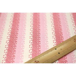 【ティルダ ファブリック/Tilda】Tilda W110 Mosaics 100019-Red|nippori-pakira