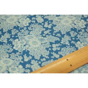 【ティルダ ファブリック/Tilda】W110 Imogen 100022-Blue|nippori-pakira