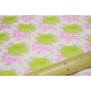 【ティルダ ファブリック/Tilda】W110 Grandma's Rose 100038-Pink|nippori-pakira