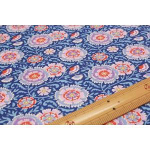 【ティルダ ファブリック/Tilda】Tilda W110 Elodie 100082-Lilac Blue|nippori-pakira