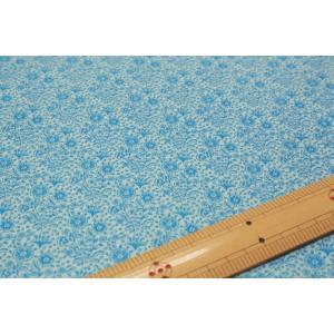 【ティルダ ファブリック/Tilda】Tilda W110 Mila 100083-Teal Blue|nippori-pakira