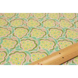 【ティルダ ファブリック/Tilda】Tilda W110 Klara 100092-Green|nippori-pakira
