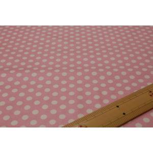 【ティルダ ファブリック/Tilda】130003 Medium Dots-Pink|nippori-pakira