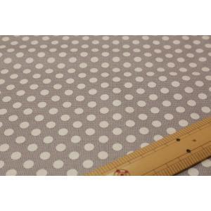 【ティルダ ファブリック/Tilda】130012 Medium Dots-Grey|nippori-pakira