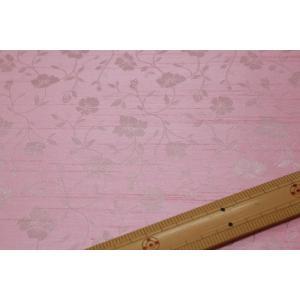 バックサテンシャンタンジャガード(ピンク系) 208115-11|nippori-pakira