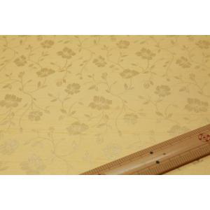 バックサテンシャンタンジャガード(黄系) 208115-12|nippori-pakira