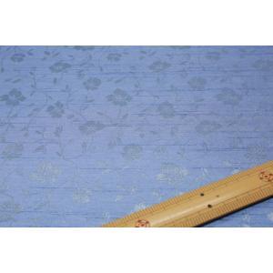 バックサテンシャンタンジャガード(水色系) 208115-13|nippori-pakira