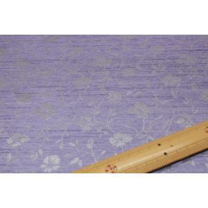 バックサテンシャンタンジャガード(紫系) 208115-16|nippori-pakira