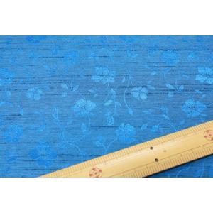 バックサテンシャンタンジャガード(ブルー系) 208115-17|nippori-pakira