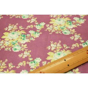 【ティルダ ファブリック/Tilda】Autumn Rose Lilac 481496|nippori-pakira