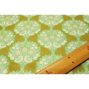 【ティルダ ファブリック/Tilda】Flower Tree Green 481503|nippori-pakira