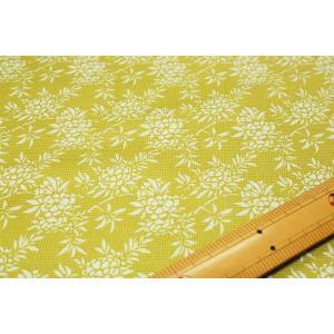 【ティルダ ファブリック/Tilda】Flower Bush Green 481504|nippori-pakira
