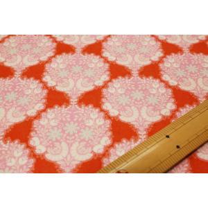 【ティルダ ファブリック/Tilda】Flower Tree Ginger 481505|nippori-pakira