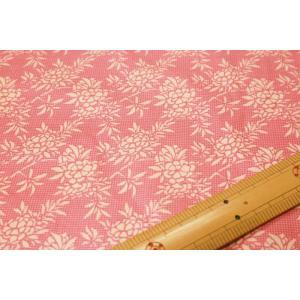【ティルダ ファブリック/Tilda】Flower Bush Pink 481507|nippori-pakira