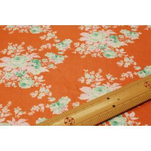 【ティルダ ファブリック/Tilda】Autumn Rose Ginger 481509|nippori-pakira