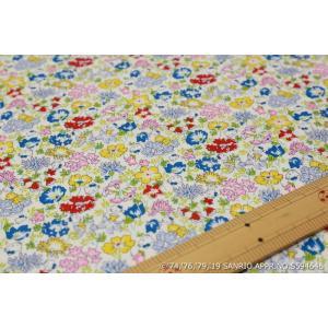 【リバティプリント/LIBERTY】(Hello Kitty 45th Anniversary) Spring Meadow DC29967-J19A|nippori-pakira
