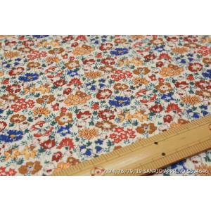 【リバティラミネート加工/LIBERTY】(Hello Kitty 45th Anniversary) Spring Meadow DC29967L-J19B|nippori-pakira