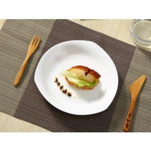 ディナープレート 8号 20.4cm 白磁 おしゃれ レンジOK オードブル カフェ シンプル ホワイト|nishida-store