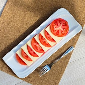 さんま皿 オードブル皿 12号 30.5cm 白磁 おしゃれ レンジOK シンプル ホワイト|nishida-store