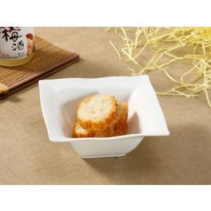 スクエアボウル 白磁 おしゃれ  500ml  サラダ ボウル 大きい レンジOK シンプル ホワイト|nishida-store