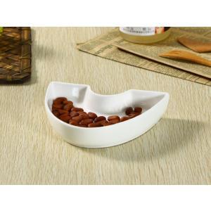 ペット食器 馬の蹄 白磁 おしゃれ かわいい 犬 猫 フードボウル シンプル|nishida-store