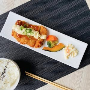 オードブル皿 11.5号 29cm サンマ皿 白磁 おしゃれ レンジOK レスタングルプレート|nishida-store