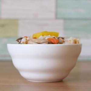 ライスボウル 4.3号 10.8cm 渦巻タイプ 茶碗 ご飯 白磁 おしゃれ レンジ OK シンプル ホワイト|nishida-store