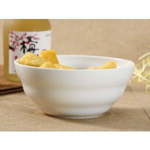 どんぶり 白磁 おしゃれ  6号丼 渦巻タイプ  茶碗 ご飯 ライスボウル 大きい 軽い 白い 無地 シンプル|nishida-store