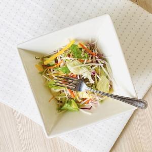 スクエアボウル 1000ml サラダボウル おしゃれ 白磁 大きい レンジOK 白い 無地 シンプル ホワイト カフェ|nishida-store