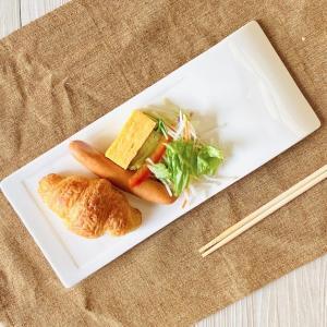 オードブル皿 寿司皿  11号  長皿 レクタングル 白磁 おしゃれ 大きい レンジOK 軽い|nishida-store