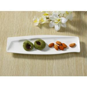 長皿 さんま皿  10号  プレート レスタングル 白磁 おしゃれ レンジOK 大きい 軽い カフェ|nishida-store