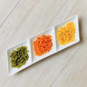 仕切り皿 オードブル皿  3仕切り 長皿  白磁 無地 シンプル おしゃれ 軽い プレート 前菜 カフェ|nishida-store